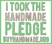 I Took The Handmade Pledge! BuyHandmade.org